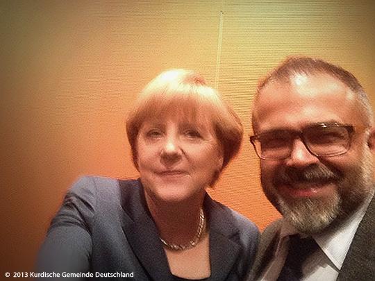 Bundeskanzlerin Angela Merkel und Ali Ertan Toprak