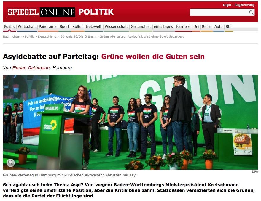 quelle: spiegel.de  http://www.spiegel.de/politik/deutschland/gruenen-parteitag-asylpolitik-wird-ohne-streit-debattiert-a-1004482.html