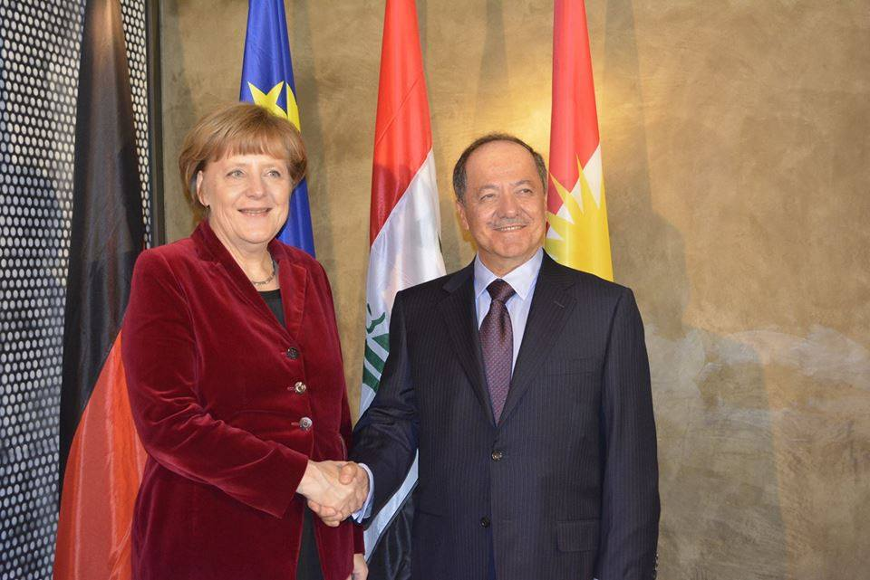 Merkel-Barzani-Muenchen
