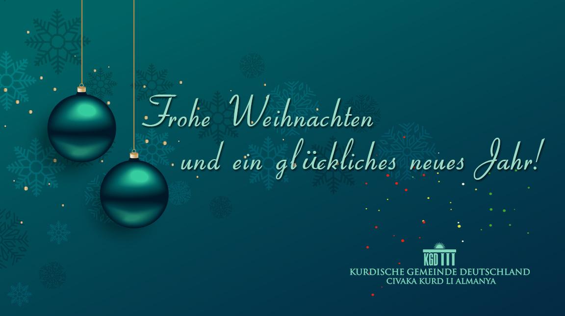 Frohe Weihnachten Aus Deutschland.Frohe Weihnachten Und Ein Gluckliches Neues Jahr