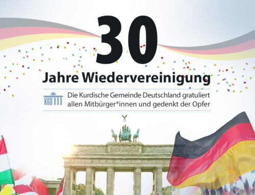 30 Jahre Wiedervereinigung: Die KGD gratuliert allen Mitbürger*innen und gedenkt der Opfer