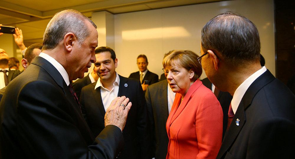 sputniknews © REUTERS/ Karhan Ozer/Presidential Palace/Handout via REUTERS
