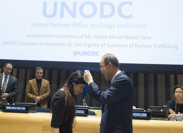 Appointment Ceremony of Ms. Nadia Murad Basee Taha as UNODC Goodwill Ambassador for the Dignity of Survivors of Human Trafficking. (co-organized by The United Nations Office on Drugs and Crime, in partnership with the Permanent Mission of the United States)