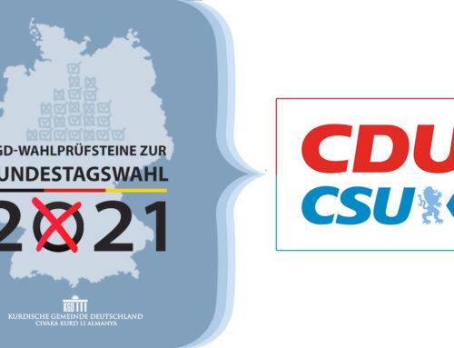 KGD-Wahlprüfsteine zur Bundestagswahl 2021 – CDU, CSU