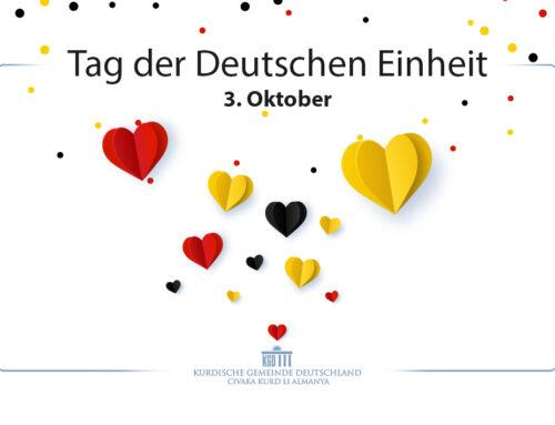 KGD gratuliert zu 31 Jahren WiedervereinigungDeutschlands
