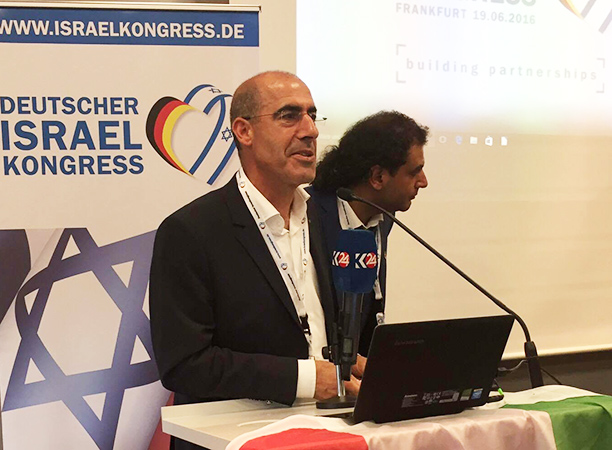 Mehmet Tanriverdi, 4.Deutscher Israel Kongress in Frankfurt am Main
