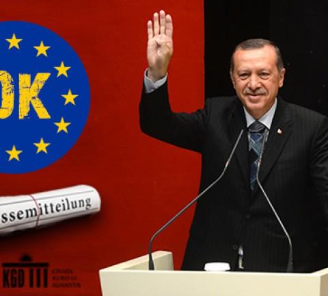 Europa muss sich für ein Ende der türkischen Autokratie einsetzen!