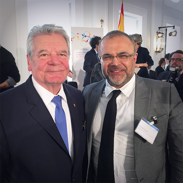 Joachim Gauck, Ali Ertan Toprak