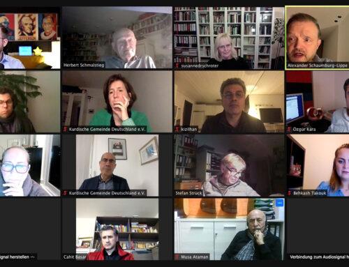 Erste Beiratssitzung 2021