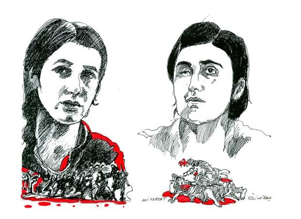 Grafik: Ali Ferzat, Quelle: Europäisches Parlament
