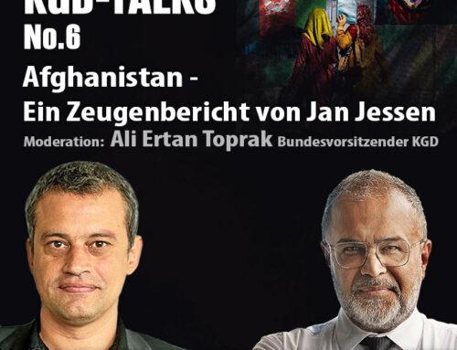"""""""KGD Talks No. 6″ Afghanistan – Ein Zeugenbericht von Jan Jessen"""