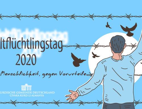 Weltflüchtlingstag 2020:  Für Menschlichkeit, gegen Vorurteile