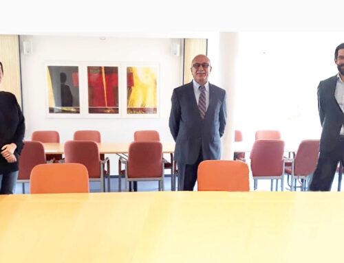 Der Vorsitzender der Kurdischen Gemeinschaft Rhein-Sieg/Bonn e.V. und Beiratsmitglied der KGD, Musa Ataman besucht Zentralkomitee der deutschen Katholiken (ZdK)