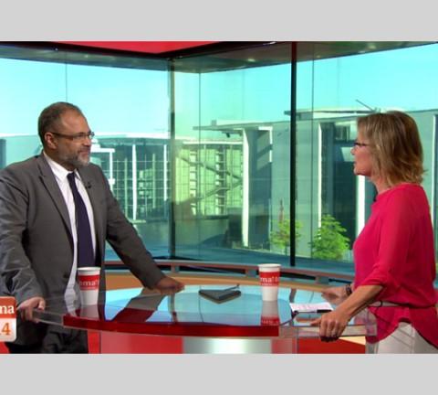 Ali Ertan Toprak bei ARD MorgenMagazin