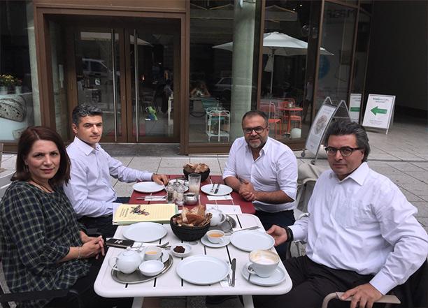 Mit der Integrationsministerin von BW Bilkay Öney und Prof. Dr. Jan Ilhan Kizilhan in Stuttgart