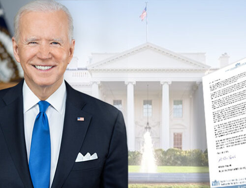 Brief an Biden