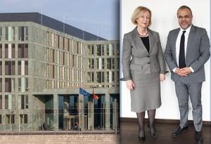 Ali Ertan Toprak trifft die Bundesministerin für Bildung und Forschung Prof. Dr. Johanna Wanka