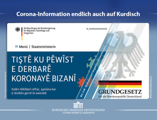 Corona-Information endlich auch auf Kurdisch