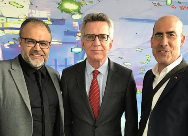 Bundesvorsitzende Ali Ertan Toprak - stellv. Vorsitzender Mehmet Tanriverdi