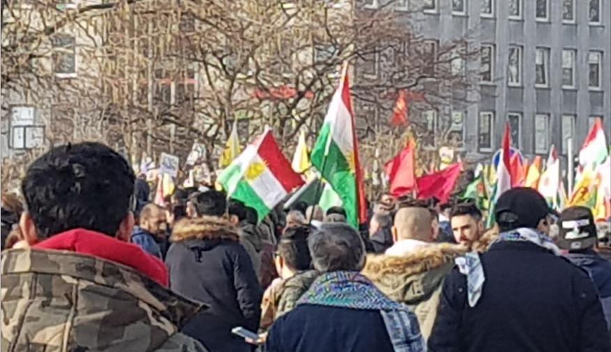Kurdische Demo Köln