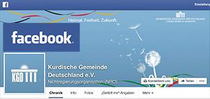 KGD Facebook - Kurdische Gemeinde Deutschland