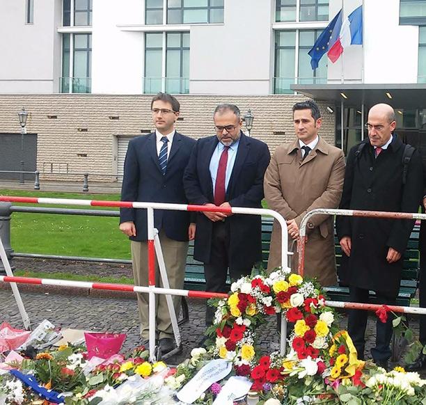 französischer Botschaft, Ali Ertan Toprak, Cahit Basar, Mehmet Tanriverdi
