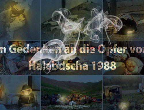 Im Gedenken an die Opfer von Halabdscha 1988
