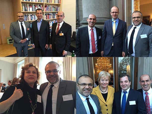 Die Vorsitzenden der Kurdischen Gemeinde Deutschland führten in Berlin politische Gespräche