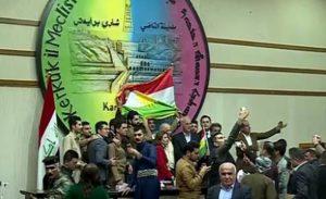 der multiethnische Stadtrat der Stadt Kirkuk