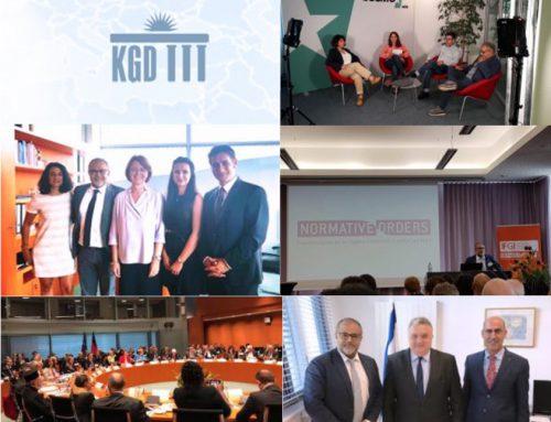 Was macht ihr eigentlich? Ein Wochenbericht von Cahit Basar, Generalsekretär der KGD