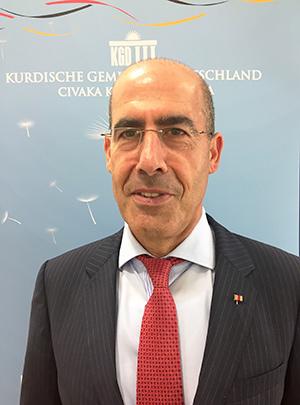Mehmet Tanriverdi, stellv. Bundesvorsitzenden der Kurdischen Gemeinde Deutschland