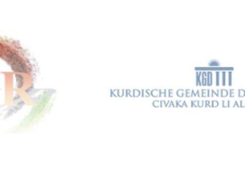 Kurdische Gemeinde Deutschland wird Mitglied im Netzwerk gegen Rassismus