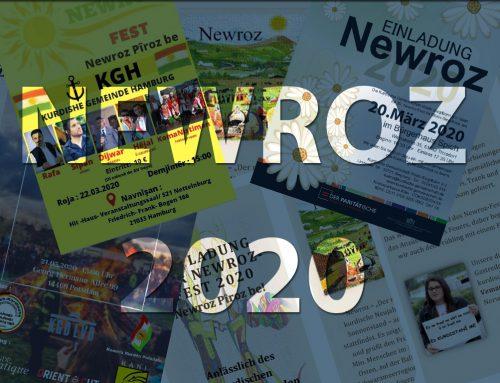 Newroz 2020 – Newroz der KGD Mitgliedsvereine