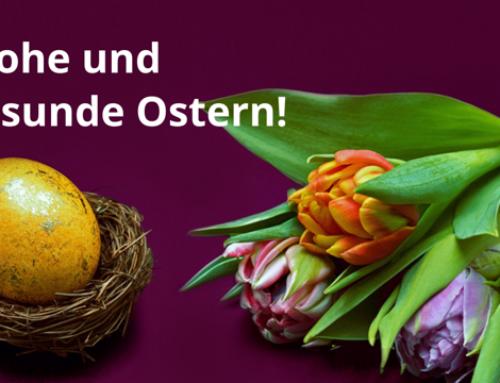 Frohe und gesunde Ostern!