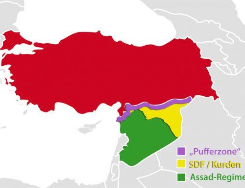"""Eine Pufferzone entlang der """"türkisch-syrischen Grenze"""" kommt einer weiteren Teilung Kurdistans gleich"""