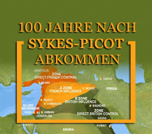 Hundert Jahre nach Sykes-Pivot Abkommen: Kurden demonstrieren für die Unabhängigkeit