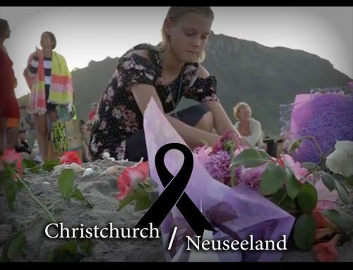 Wir trauern um die Opfer des Terrorakts in Neuseeland
