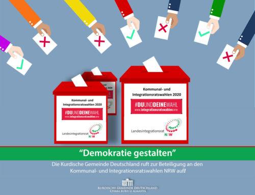 """""""Demokratie gestalten"""" Die KGD ruft zur Beteiligung an den Kommunal- und Integrationsratswahlen NRW auf"""